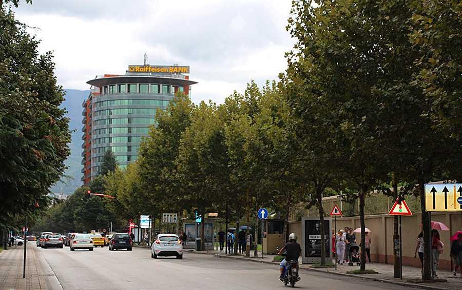 Офис крупнейшего иностранного банка Албании