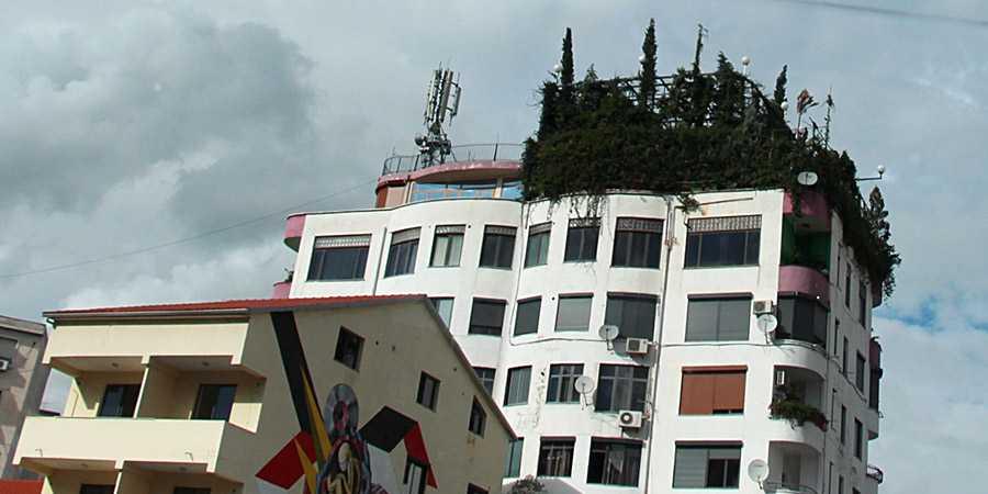 Сад на крыше здания