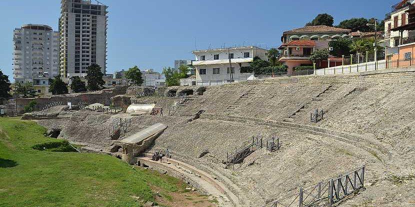 Античные памятники Албании
