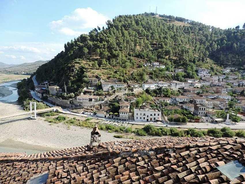 В Горице находятся могучие стены древней цитадели