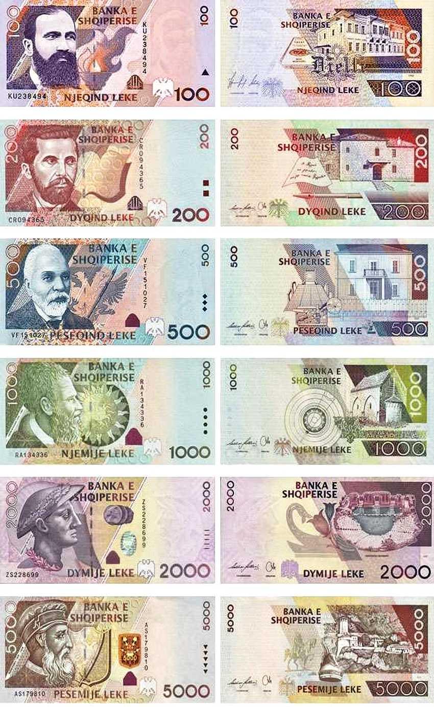 Какие деньги в Албании