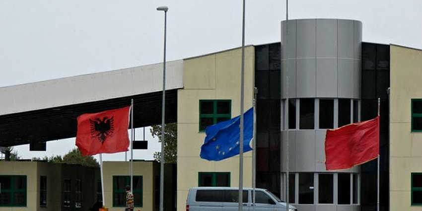 Пересечение албанской границы